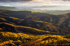 layers, ridges, apsen, color, owl creek pass, uncompahgre, national forest, , colorado, Uncompahgre National Forest