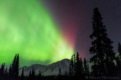 broad, pass, aurora borealis, aurora, northern lights, alaska