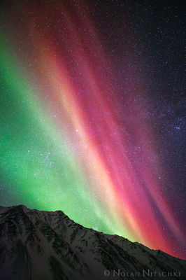 aurora borealis, aurora, northern lights, alaska
