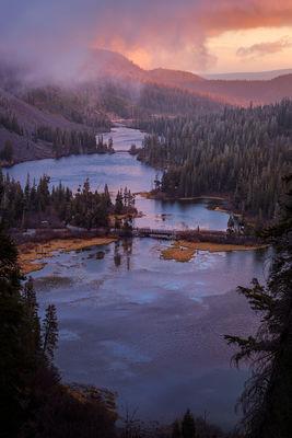 Twin Lakes Sunrise
