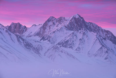 mammoth lakes, california, winter, morrison, sunrise, beautiful