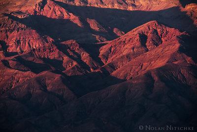 Last Light in the Desert