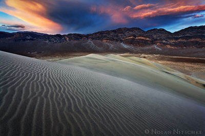 death, valley, death valley, national park, death valley national park, california, eureka, dunes, sunset