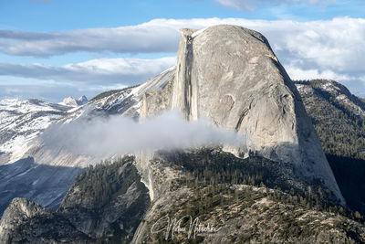 yosemite, national park, california, sierra, sierra nevada, half dome, cloud