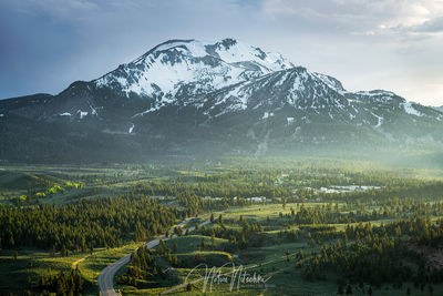 mammoth, lakes, california, 203, highway, town, mountain, eastern sierra, sierra, sierra nevada, spring