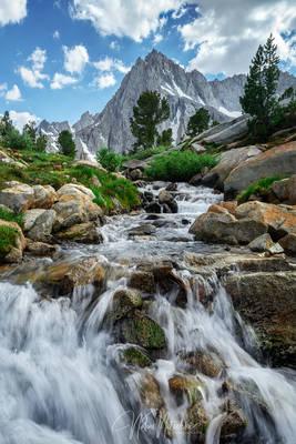 sabrina, basin, johm muir, wilderness, california, creek, cascade, picture, peak, eastern sierra, sierra, sierra nevada, mountains, sabrina, basin, inyo, national fores