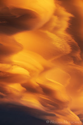 eastern sierra, california, owens valley, sierra wave, sunset