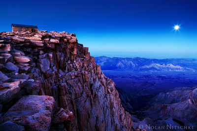 mt, whitney, moon, moonrise, rise, lone pine, smithsonian, sequoia, national park, inyo, national, forest, high sierra, sierra nevada