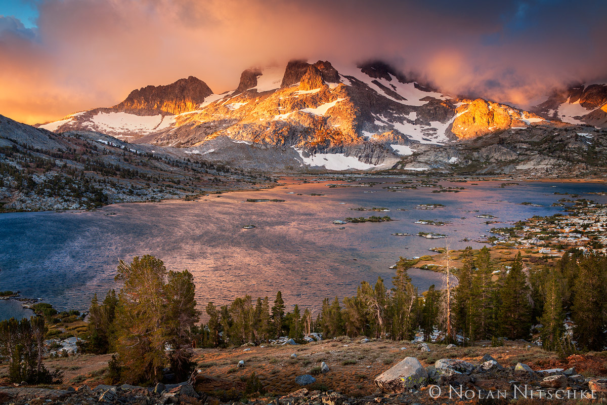 Ansel Adams Wilderness, Inyo National Forest, California, high sierra, sierra nevada, photo