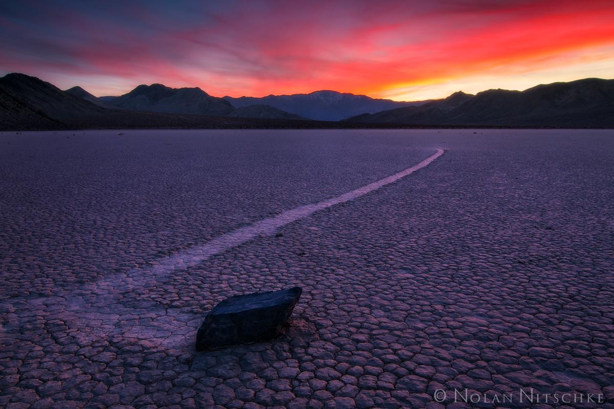 death, valley, death valley, national park, death valley national park, california, racetrack, sunset, playa, photo