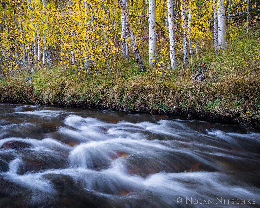 eastern sierra, sierra nevada, california, fall, colors, aspen, autumn,, photo