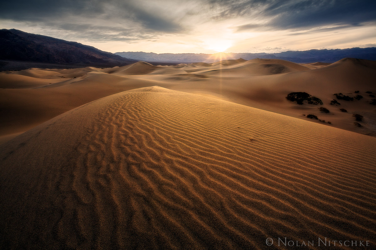 death, valley, death valley, national park, death valley national park, california, mesquite, dunes, sun, photo