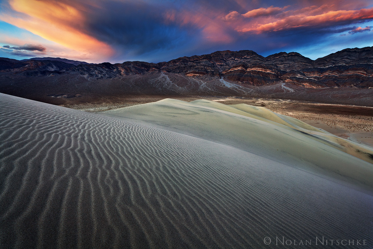 death, valley, death valley, national park, death valley national park, california, eureka, dunes, sunset, photo
