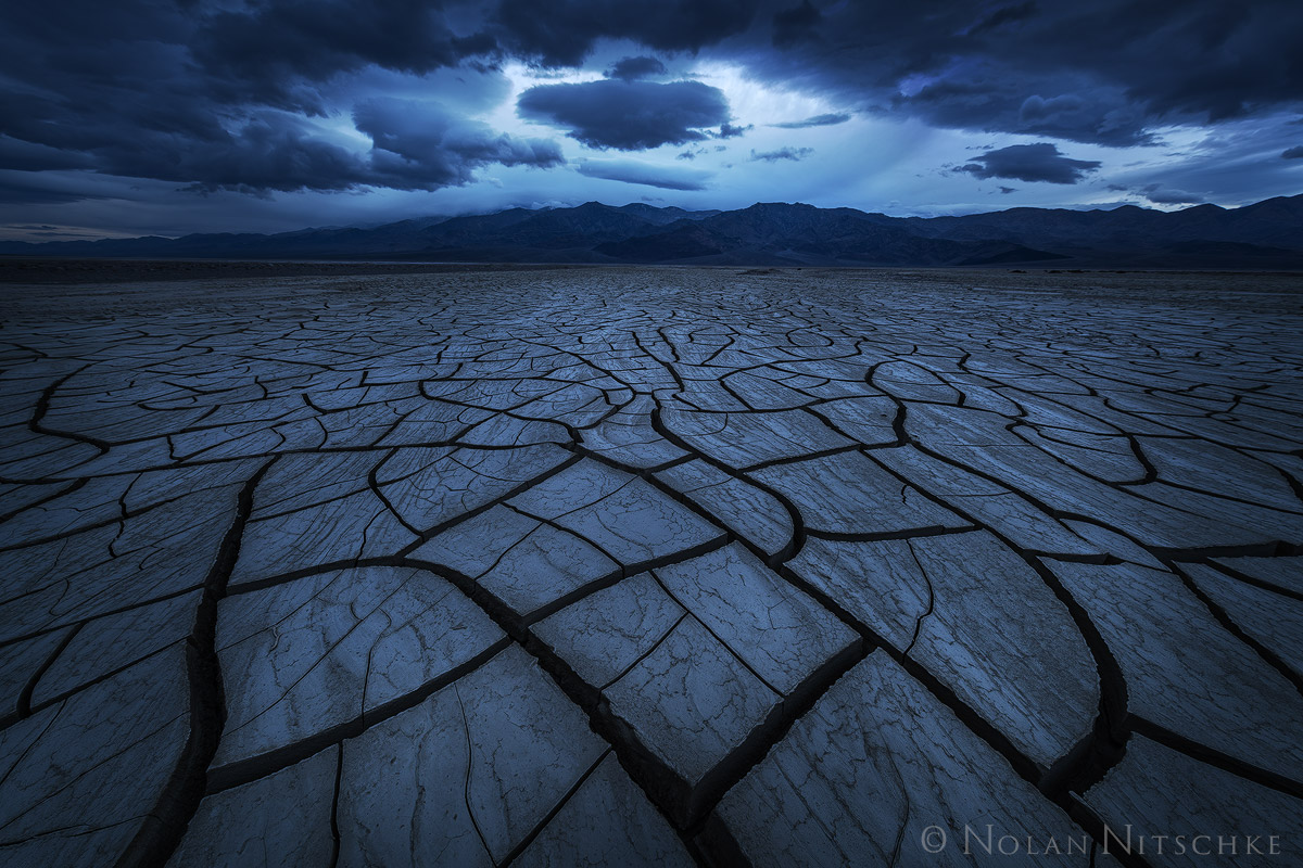 death, valley, death valley, national park, death valley national park, california, badwater. basin, mudcrack, storm, photo
