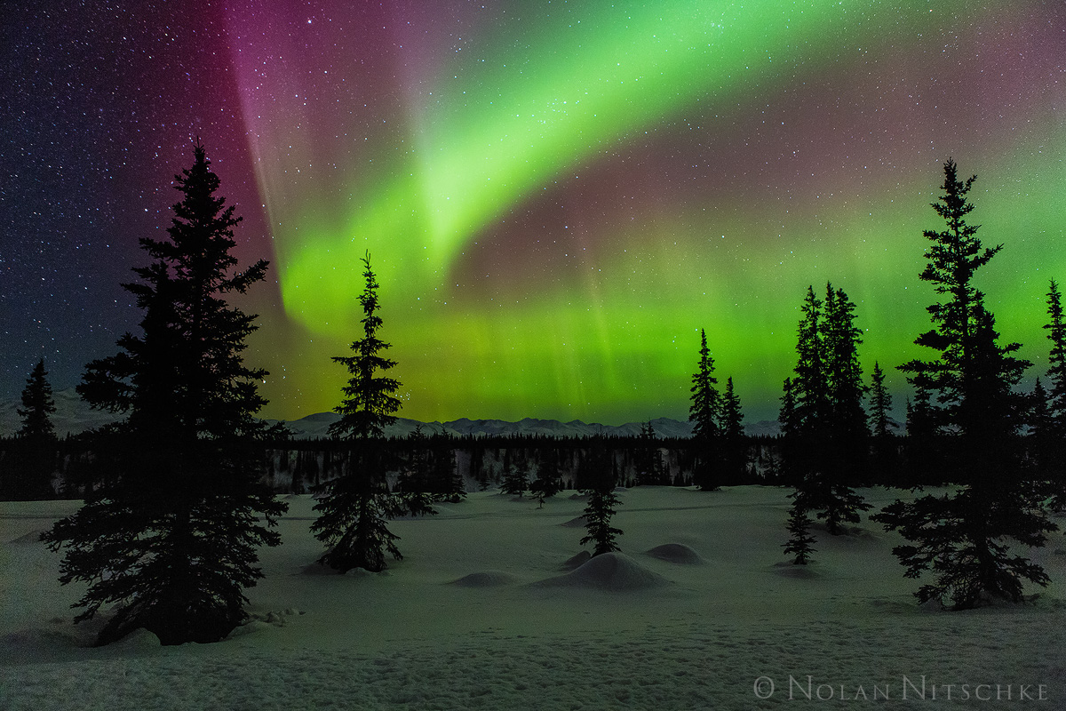 broad, pass, , aurora borealis, aurora, northern lights, alaska, photo